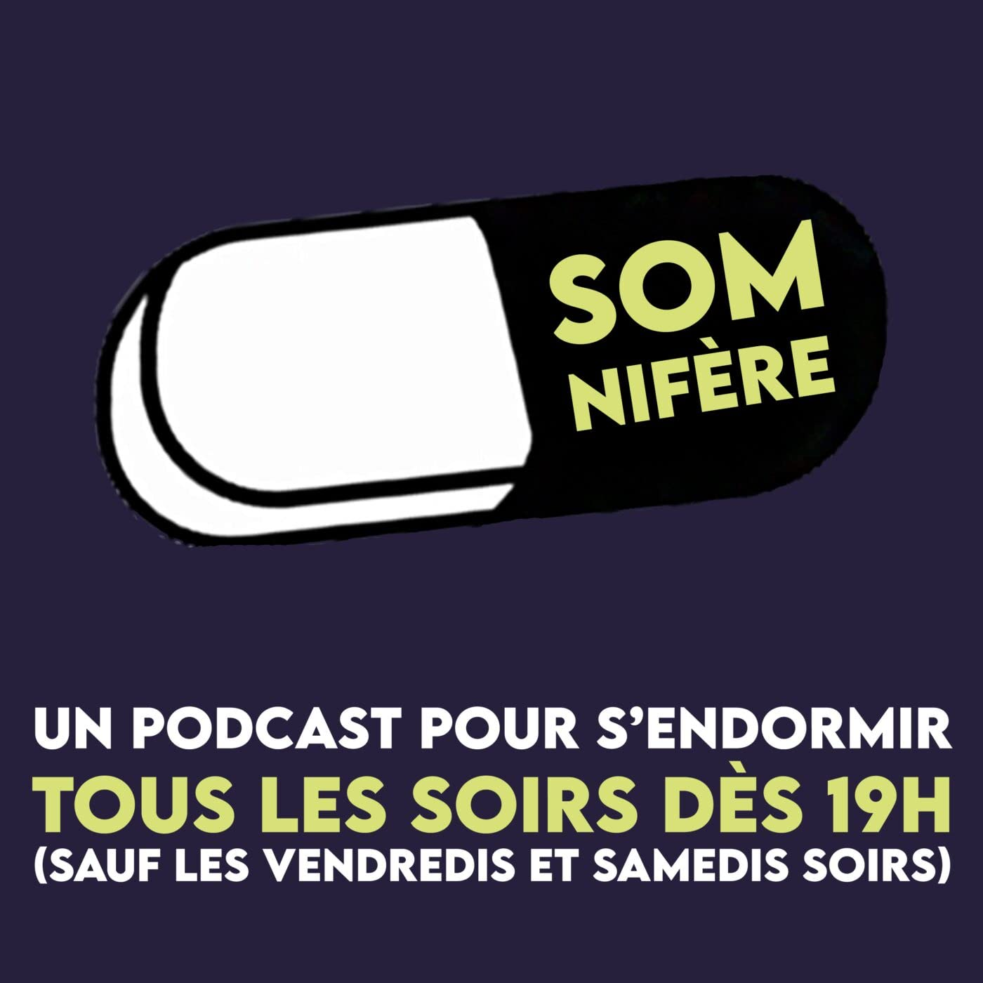 Somnifère, le podcast pour s'endormir