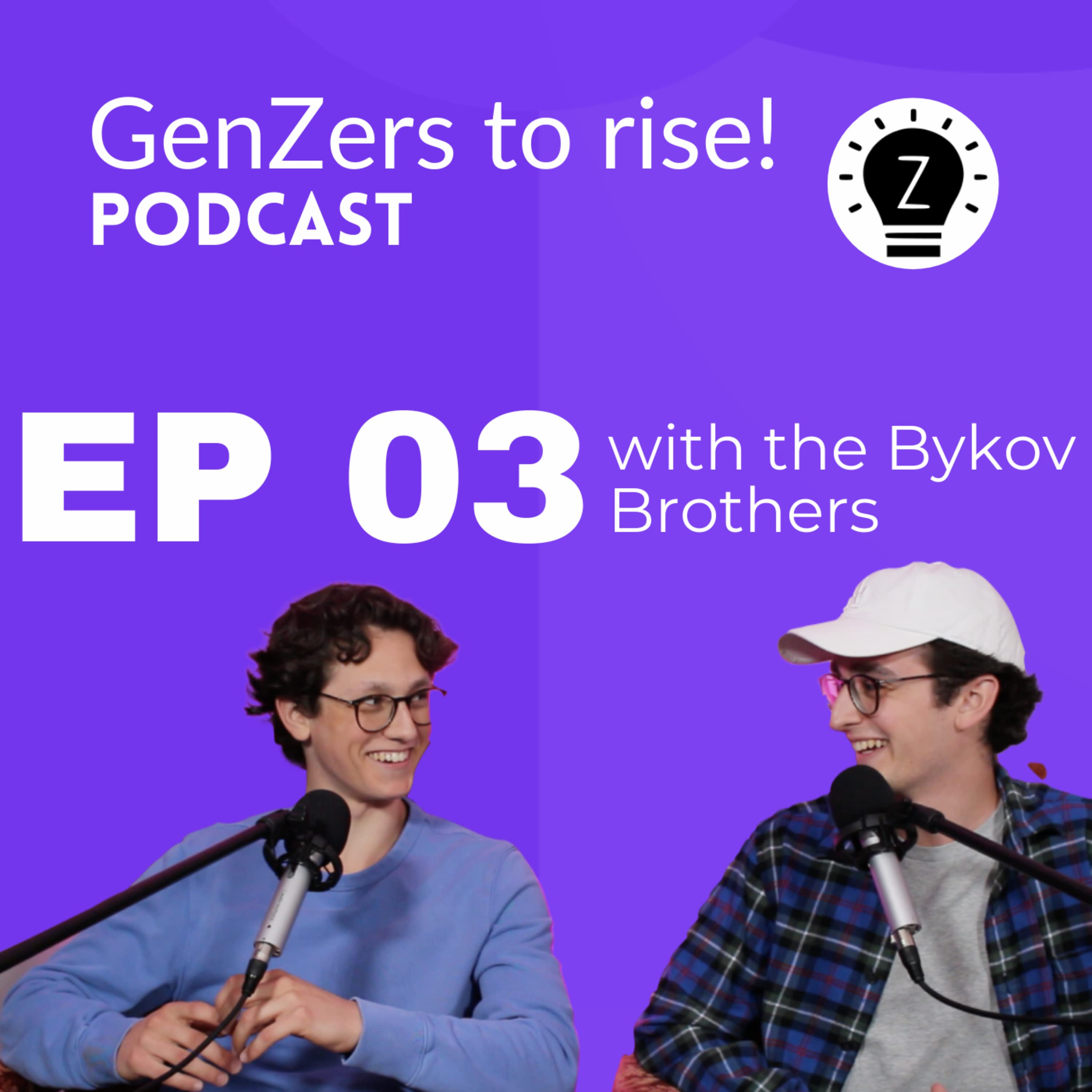 Ever been interested in starting a podcast? with the Bykov brothers