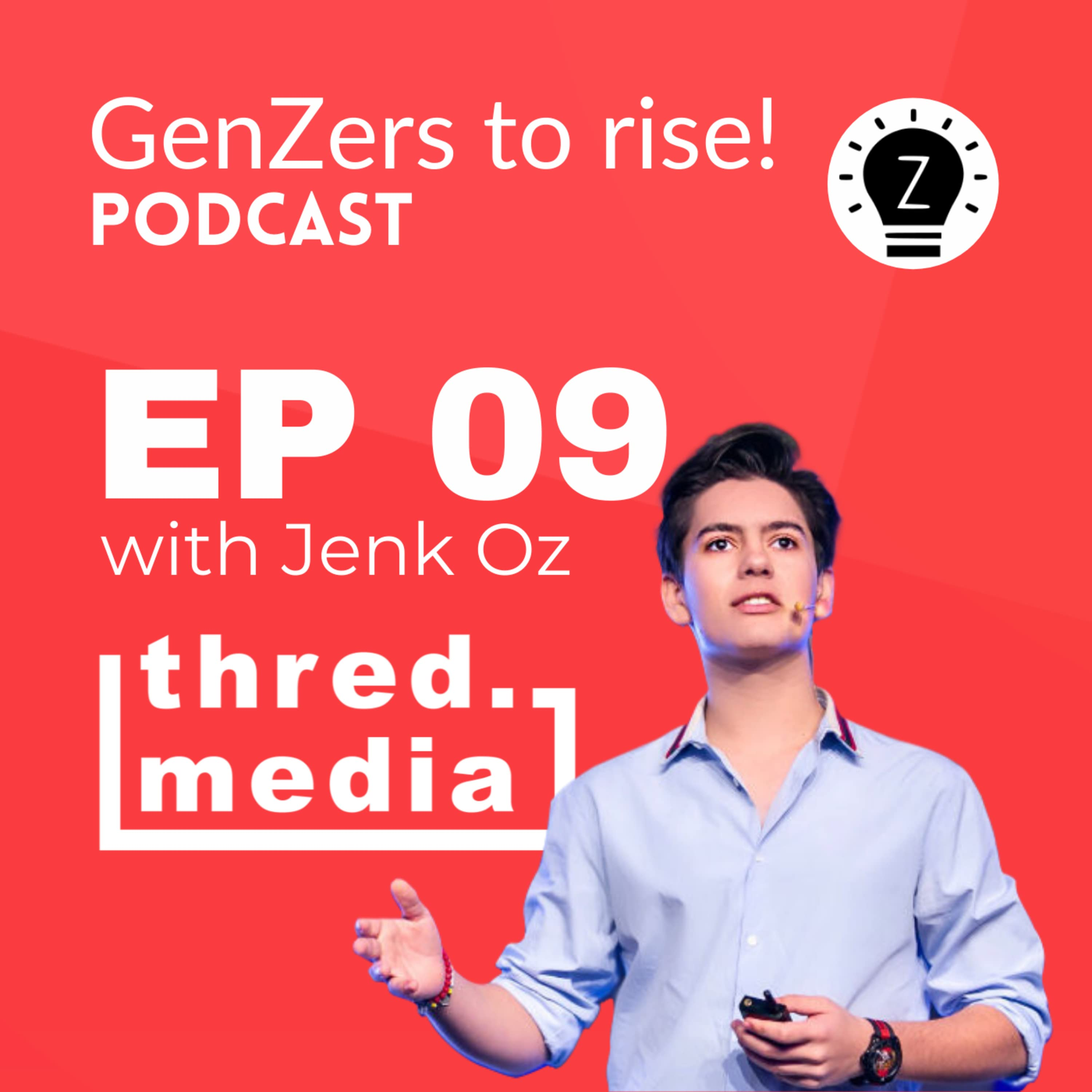 Building a social impact centered media company with Jenk Oz
