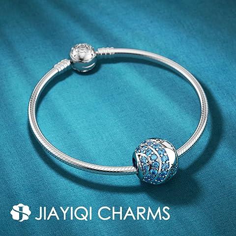 2 Hole Pendant Charms 12 x 20 mm NF0272 24K Shiny Gold Plated Crystal Stone Snowflake  Bracelet