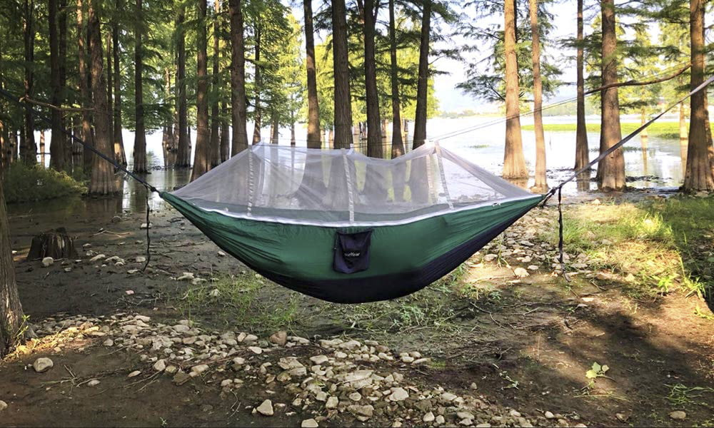 The best hammock bug nets for a relaxing camping trip