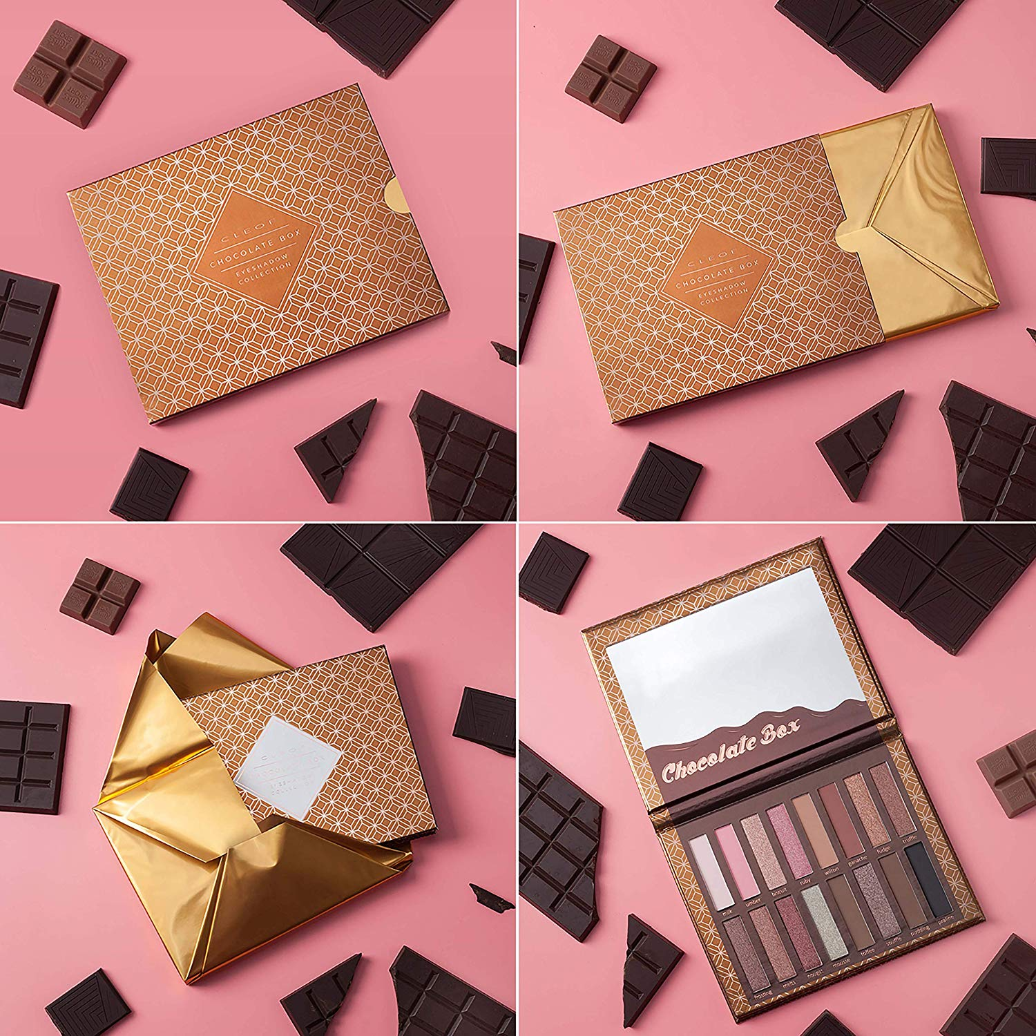 These Coffee & Cocoa Bronzer & Shadow Palettes Contain Everything You Need For A Perfectly Sculpted Face