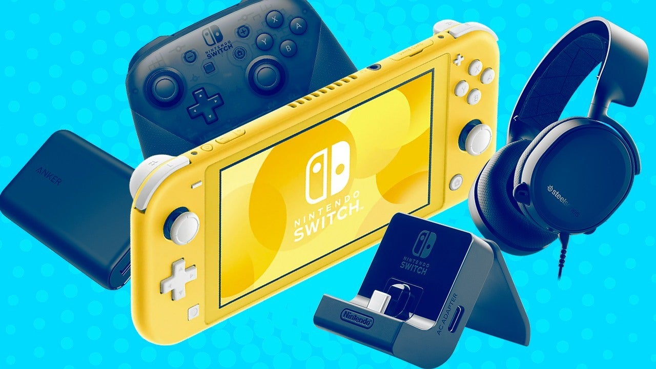 Best Nintendo Switch Lite Accessories: Stands, Batteries and More