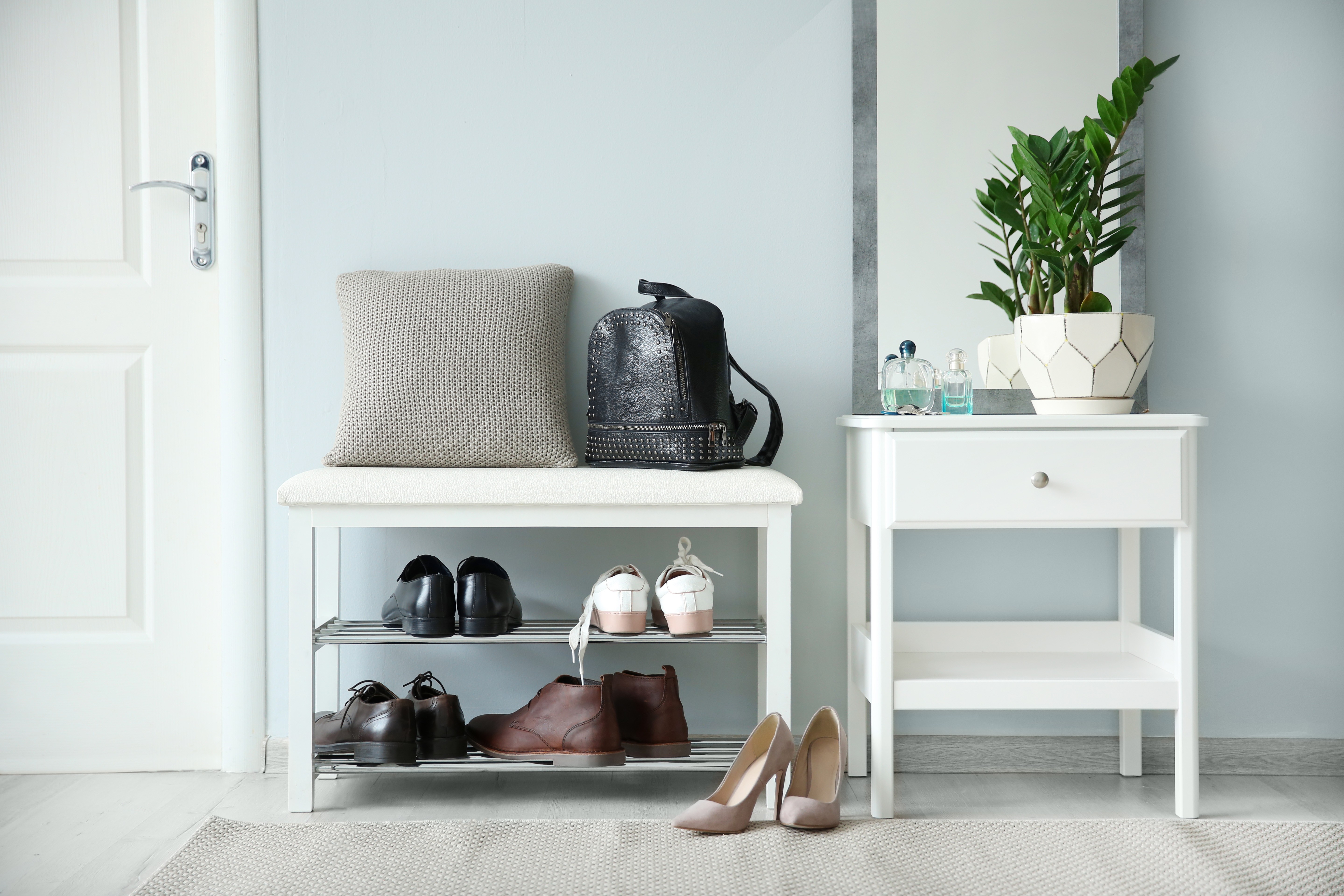 The Best Entryway Benches With Shoe Storage
