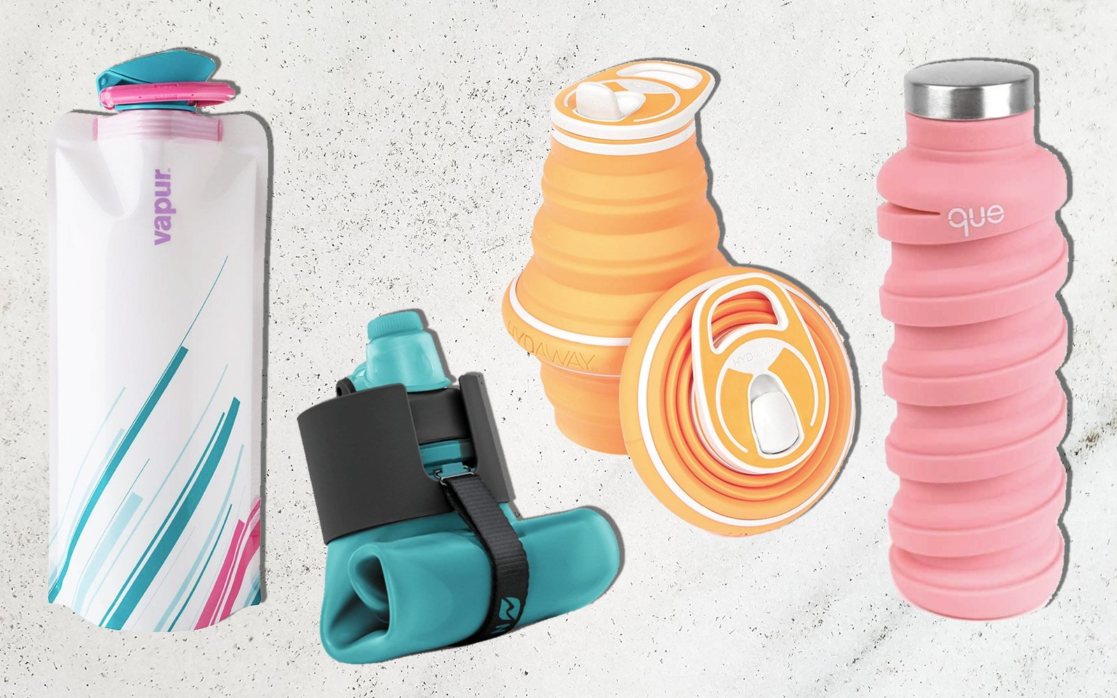 The Best Collapsible Water Bottles That Won't Take up Space in Your Bag