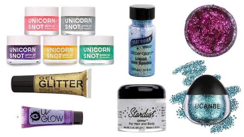 Best Body Glitter Gels