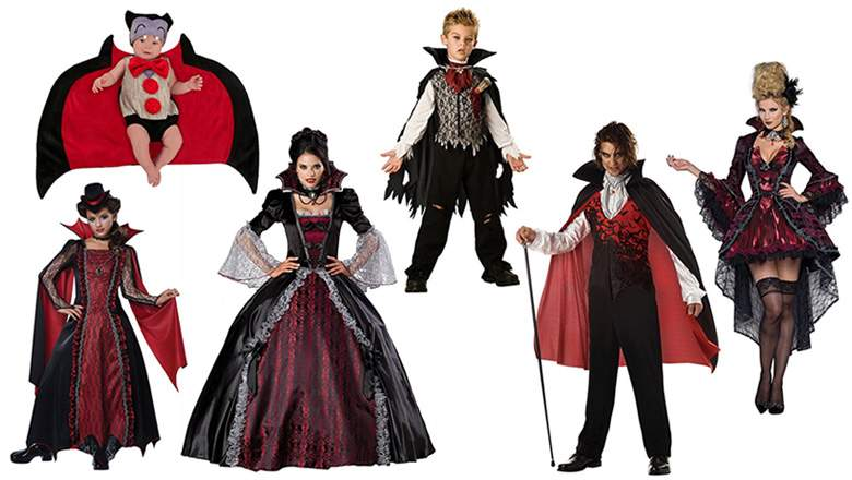 Best Vampire Costumes for the Whole Family