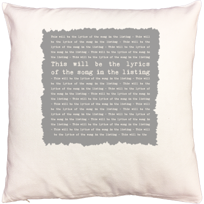 NOT JUST A PRINT Ed Sheeran 'Thinking Out Loud' Personalised