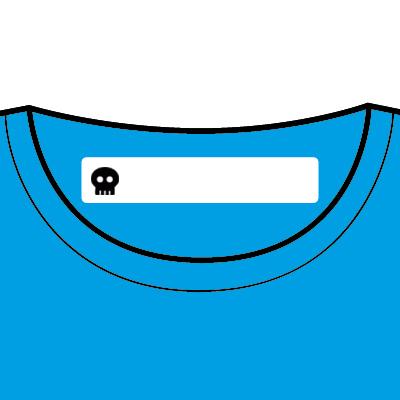 100 Etiquetas Termoadhesivas Personalizadas con Icono para marcar la ropa. Tela Blanca: Amazon.es: Hogar