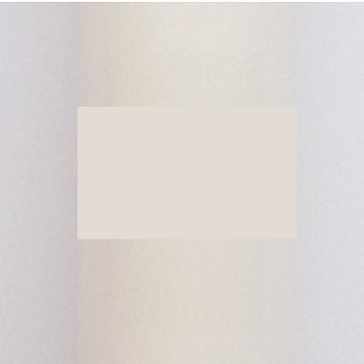 FIESTADEKOR Vela para Bautizo DE Cera Blanca. Medida 3 x 40CM Decorada con Lazo, Chupete Y CIGÜEÑA Adhesiva (Rosa Personalizada)