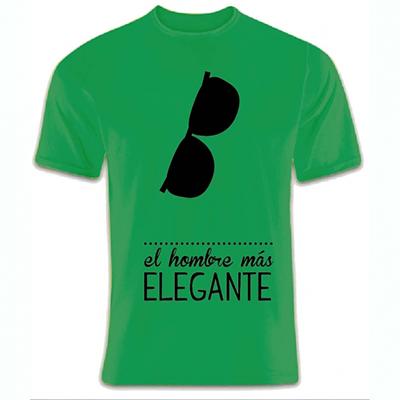 Calledelregalo Camiseta personalizada Hombre elegante ...