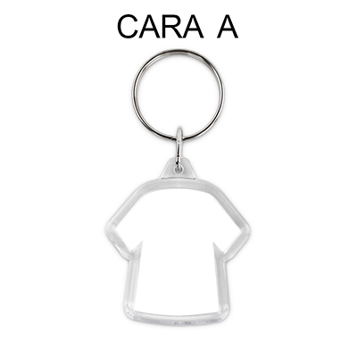 Llavero Personalizado Dos Caras (Metacrilato) (Camiseta Dos Caras)