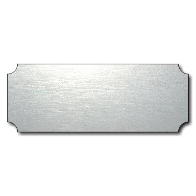 70-300-017 Acryl Klingelschild Briefkastenschild T/ürschild individuell anpassbar Oberfl/äche Gold geb/ürstet oder Edelstahl geb/ürstet