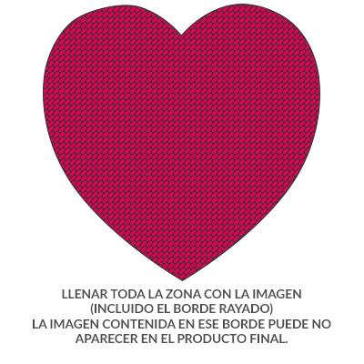 Lolapix - Cojín corazón algodón Personalizado con tu Foto, diseño o Texto, Original y Exclusivo Distintos tamaños a Elegir. Relleno Incluido. Tamaño ...