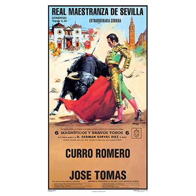 Cartel de toros - Personalizado 24 Carácteres - Real ...