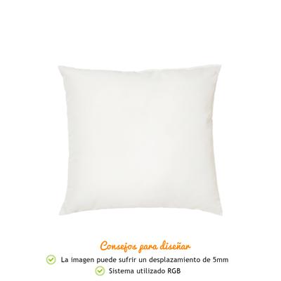 Cojines Personalizados con Fotos y Texto | Tejido Tacto algodón | Relleno Incluido | Tamaño 25x25 cm
