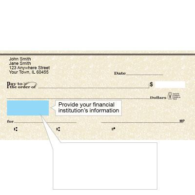 Amazon.com: Marmol Designer Personal Checks: Office Products