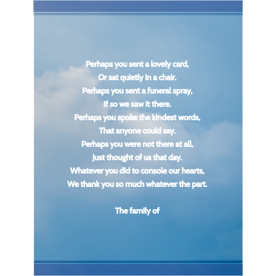 amazon com funeral memorial service thank you cards envelopes