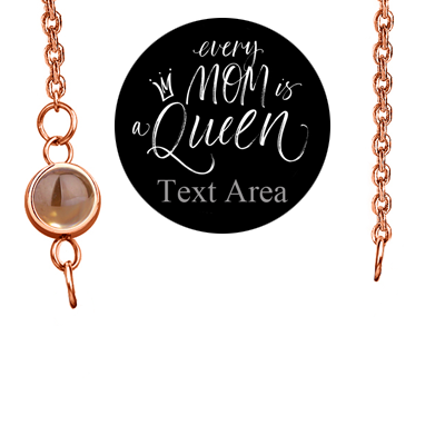 322bd5981185bd Amazon.com: Fujin Personalized Necklace Custom Name Nameplate Pendant  Necklace for Women in Rose Gold -Gift to The One(A Customized Projection in  Rose Gold: ...