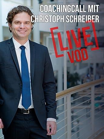 Livecoaching mit Christoph Schreiber