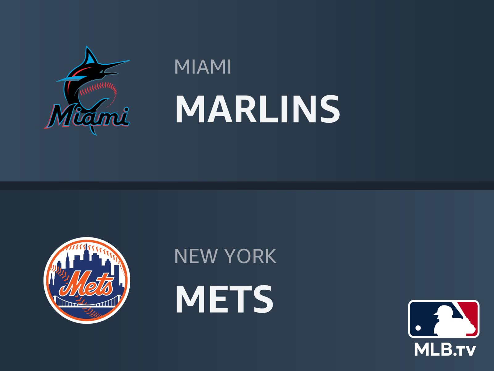 Watch Miami Marlins At New York Mets Prime Video