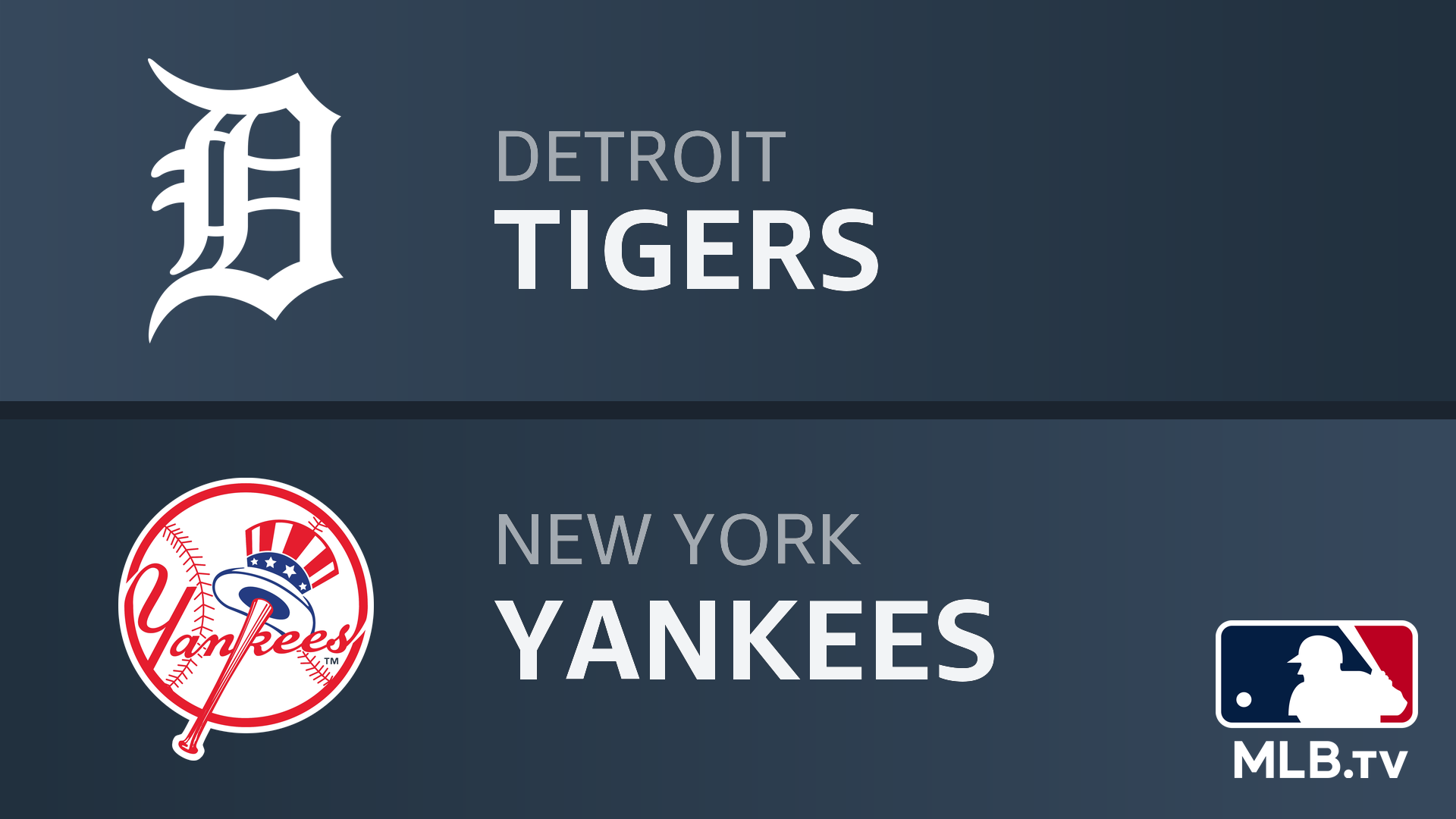 Watch Detroit Tigers At New York Yankees Prime Video