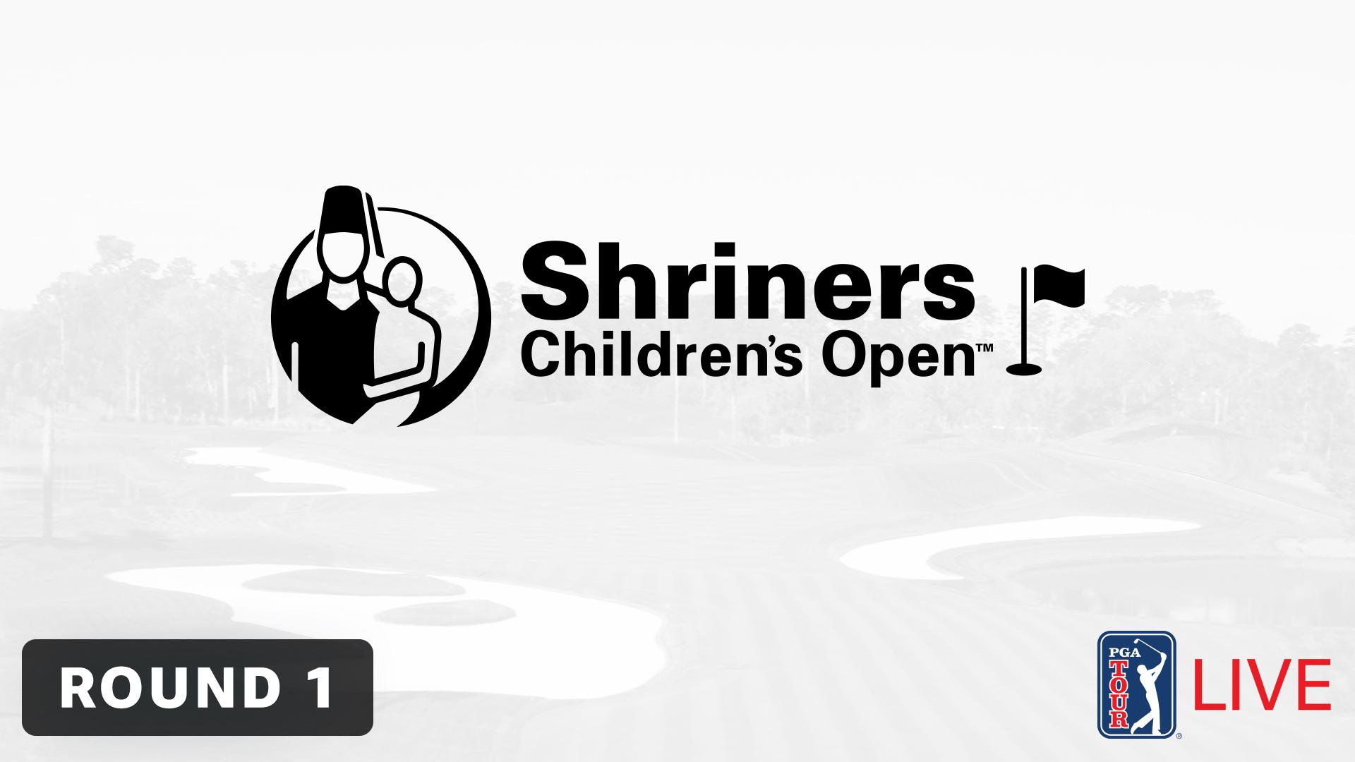 Shriner Children's Open: Thursday's Featured Groups