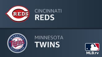 Cincinnati Reds at Minnesota Twins