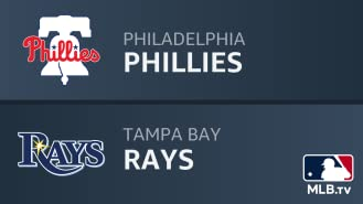 Philadelphia Phillies at Tampa Bay Rays
