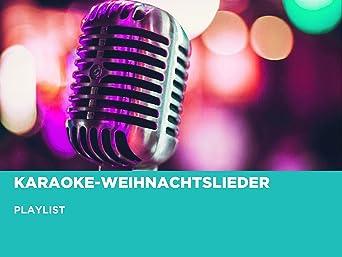 Karaoke-Weihnachtslieder