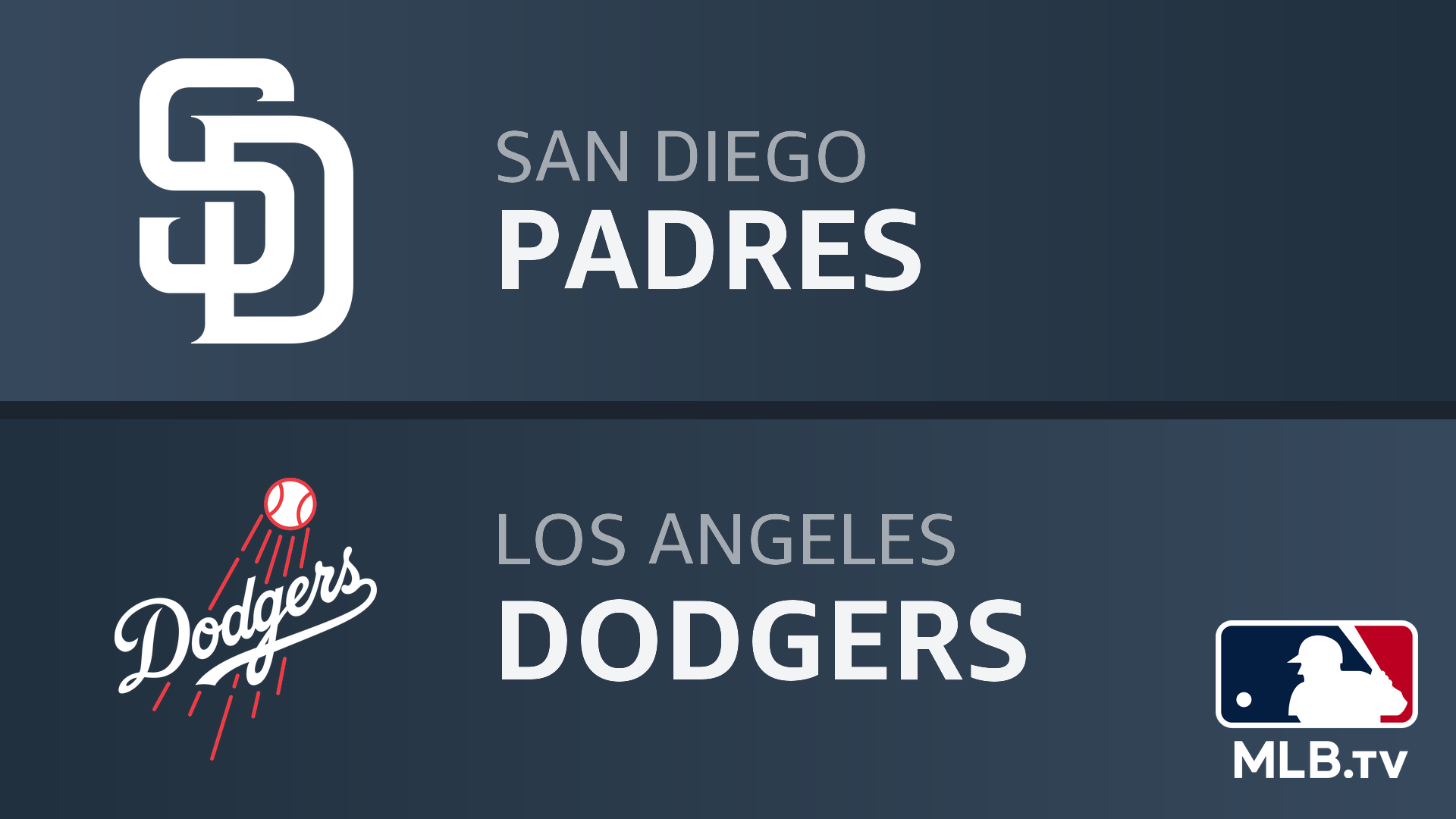 Watch San Diego Padres At Los Angeles Dodgers Prime Video