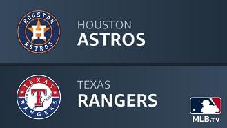 Houston Astros at Texas Rangers