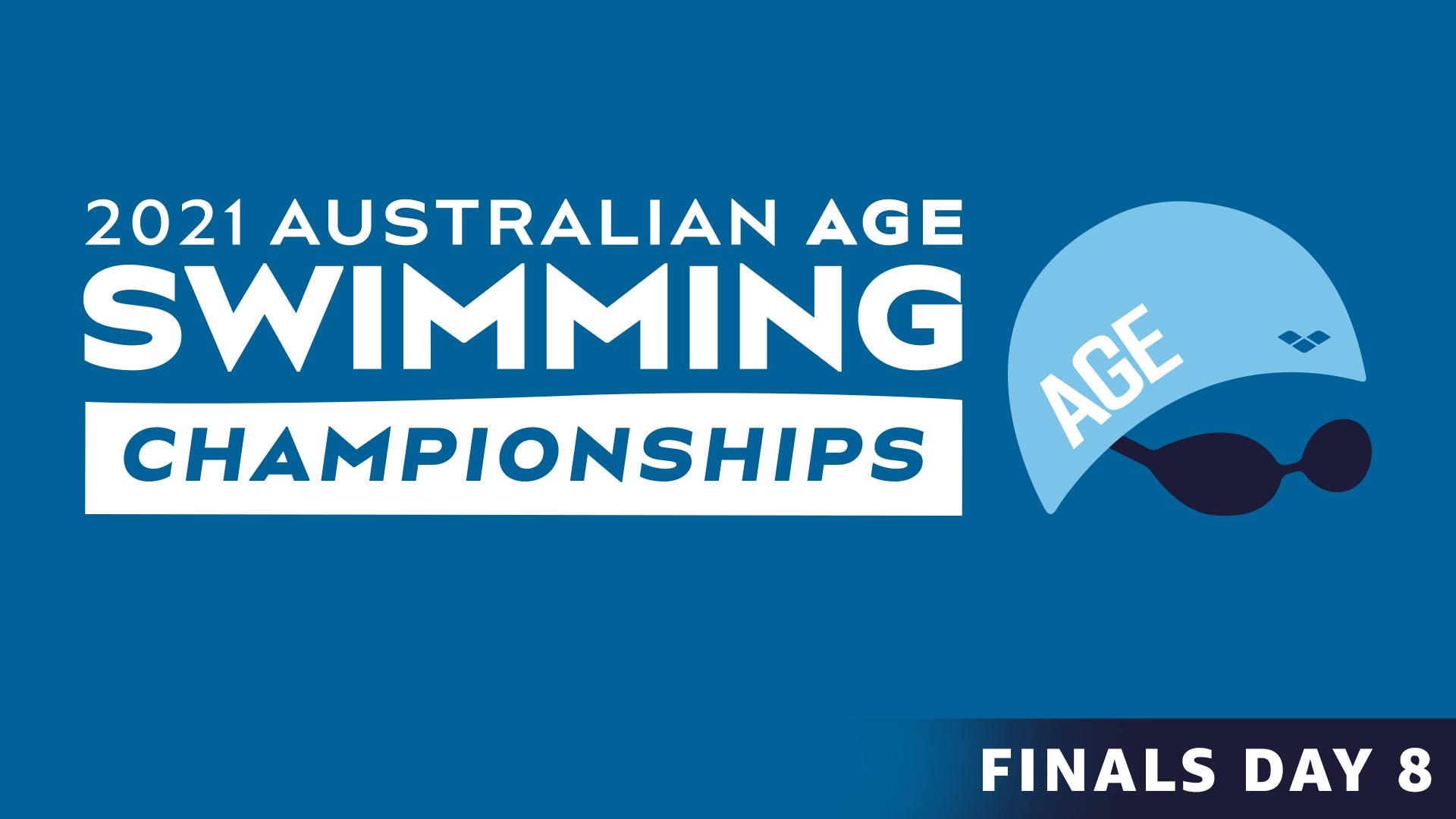 Australian Age Swimming Championships: Day 8 Finals