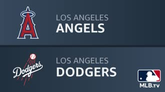 Los Angeles Angels at Los Angeles Dodgers
