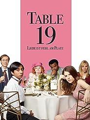 Table 19 - Liebe ist fehl am Platz