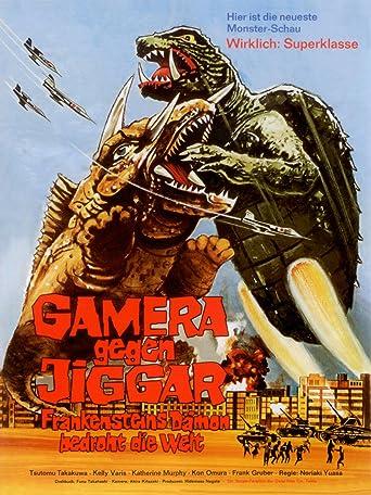Gamera gegen Jiggar - Frankensteins Dämon bedroht die Welt