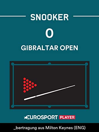 Snooker:Gibraltar Open 2021