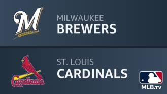 Milwaukee Brewers at St. Louis Cardinals