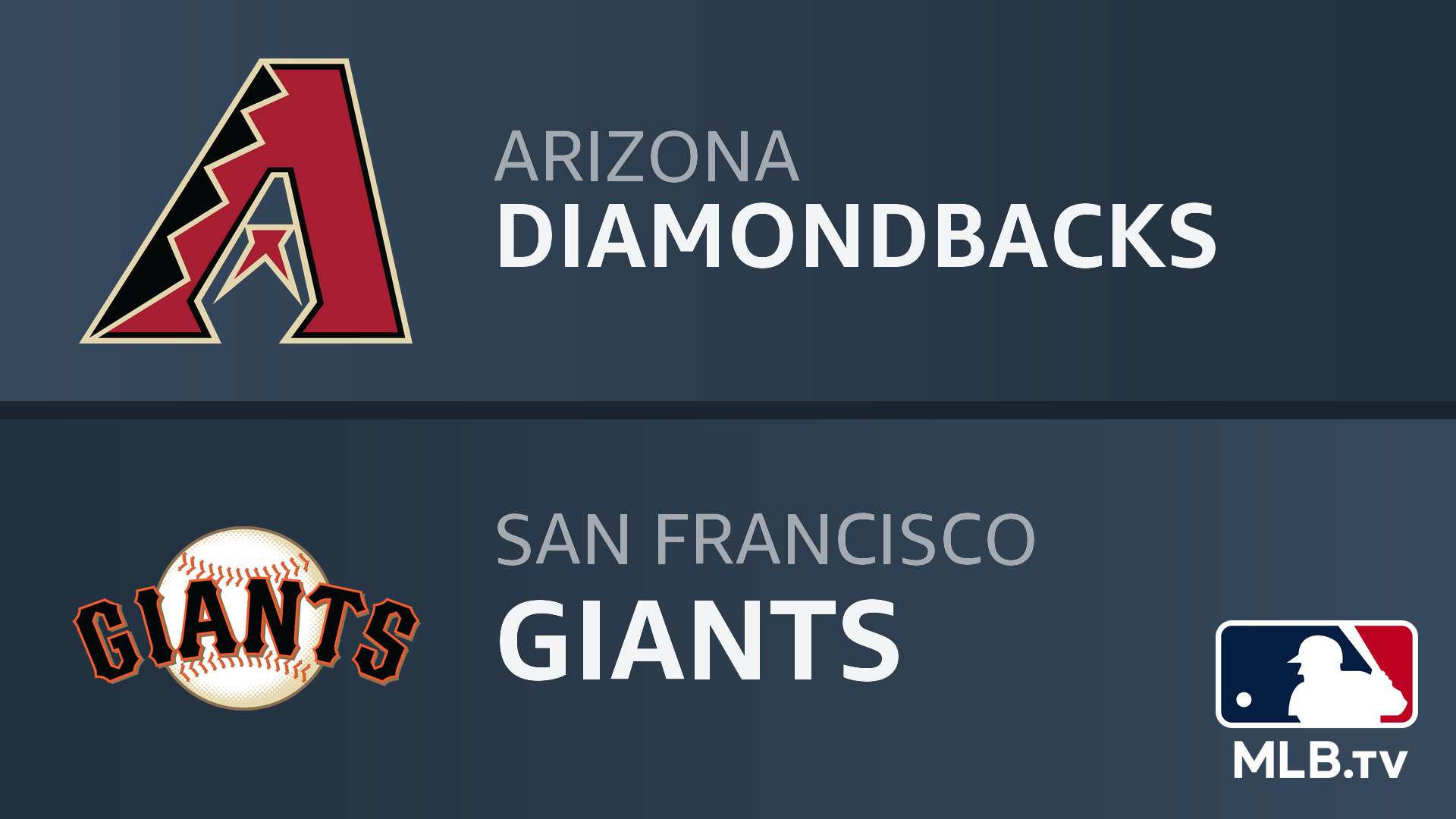 Watch Arizona Diamondbacks At San Francisco Giants Prime Video