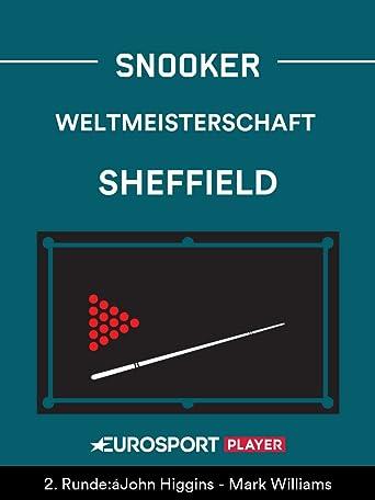 Snooker: Weltmeisterschaft in Sheffield (ENG)