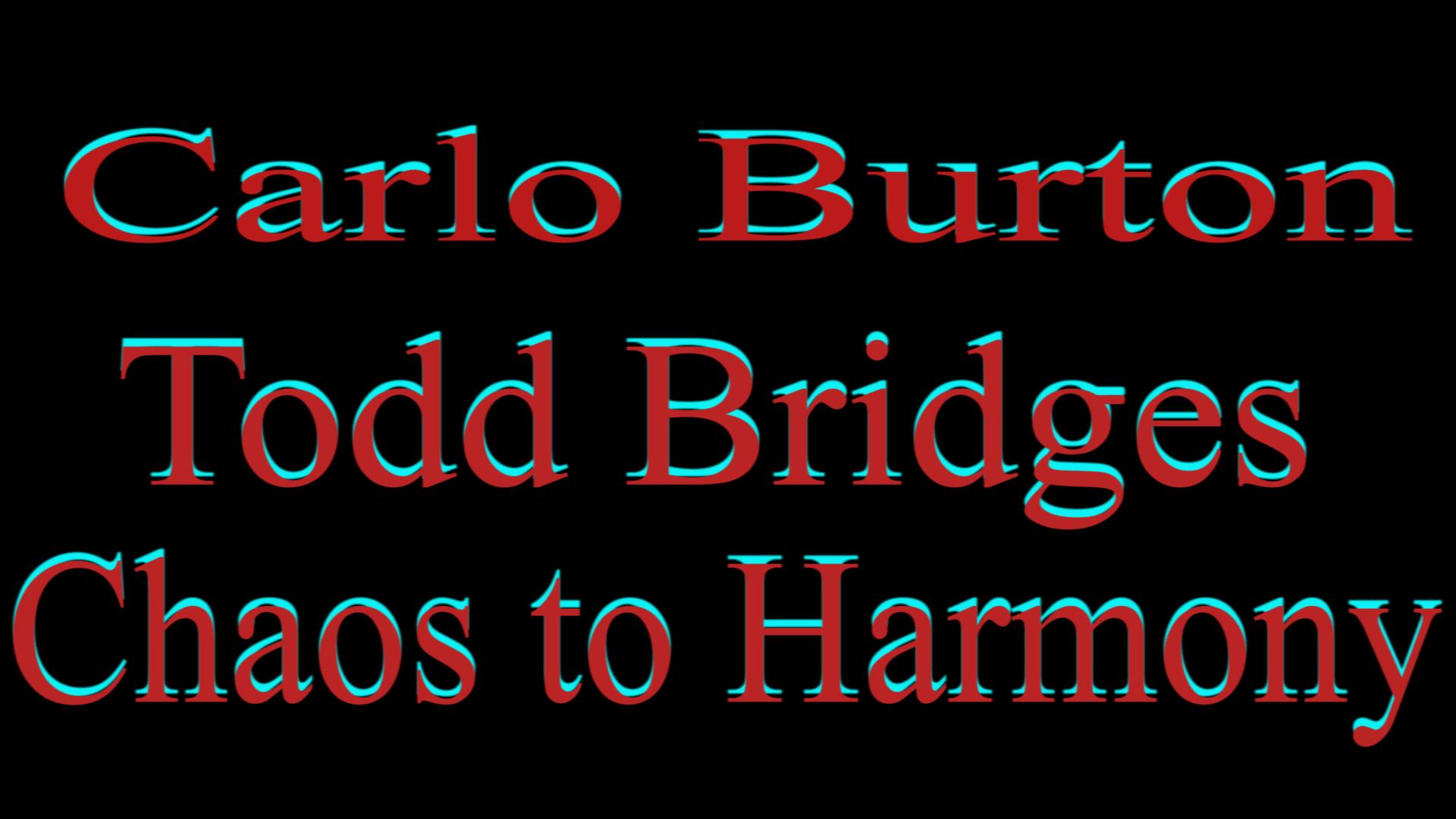 Carlo Burton' Documentary Chaos to Haromony [OV]