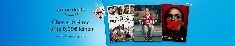 Über 300 Filme leihen für je 0,99€. Nur für Prime-Mitglieder.
