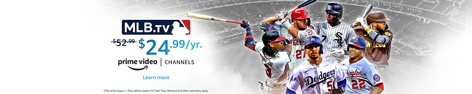 Watch MLB Games with MLB.TV on Prime Video Channels