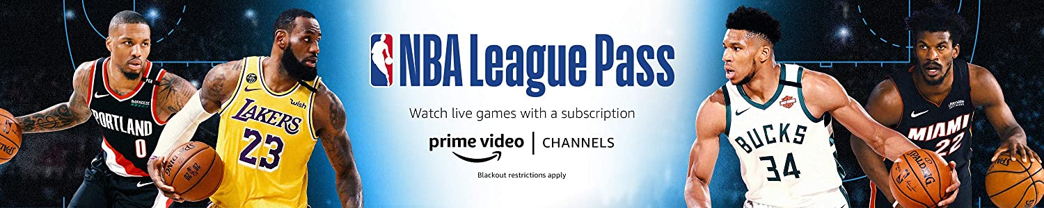 Watch NBA Games with NBA League Pass on Prime Video Channels