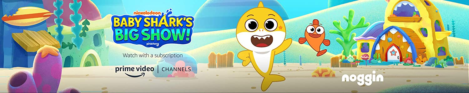Watch Baby Shark on Noggin with Prime Video Channels