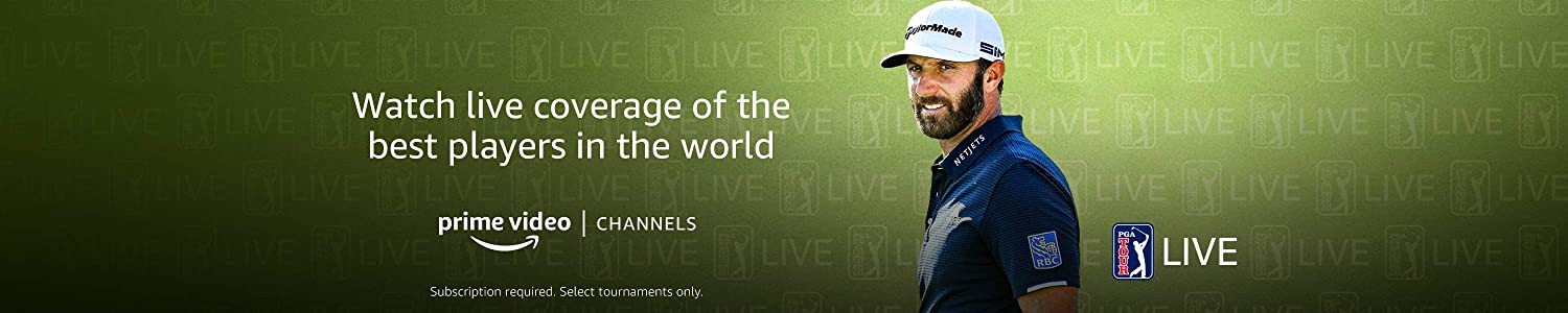 PGA Tour Live on Prime Video Channels