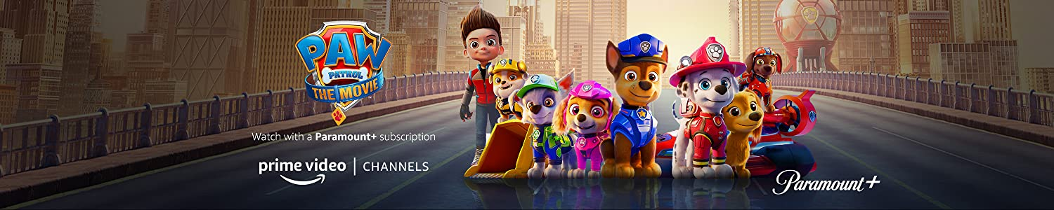 Watch Paw Patrol on Paramount+ with Prime Video Channels