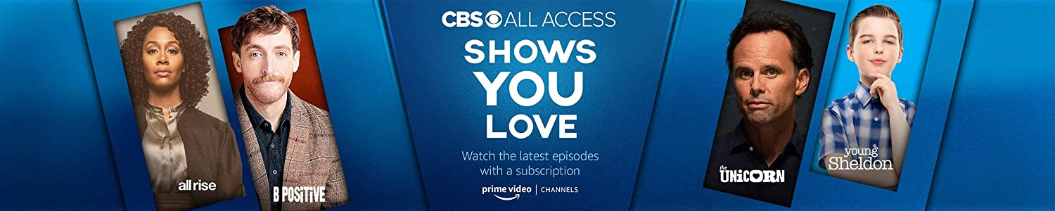 Watch CBS All Access on Prime Video