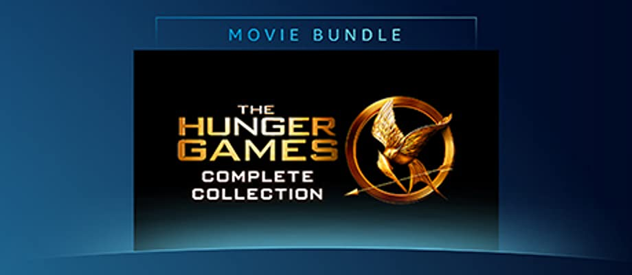 The Hunger Games Complete 4-film Collection.  This bundle includes the following movies: The Hunger Games, The Hunger Games: Catching Fire, The Hunger Games: Mockingjay Part 1, The Hunger Games: Mockingjay - Part 2.