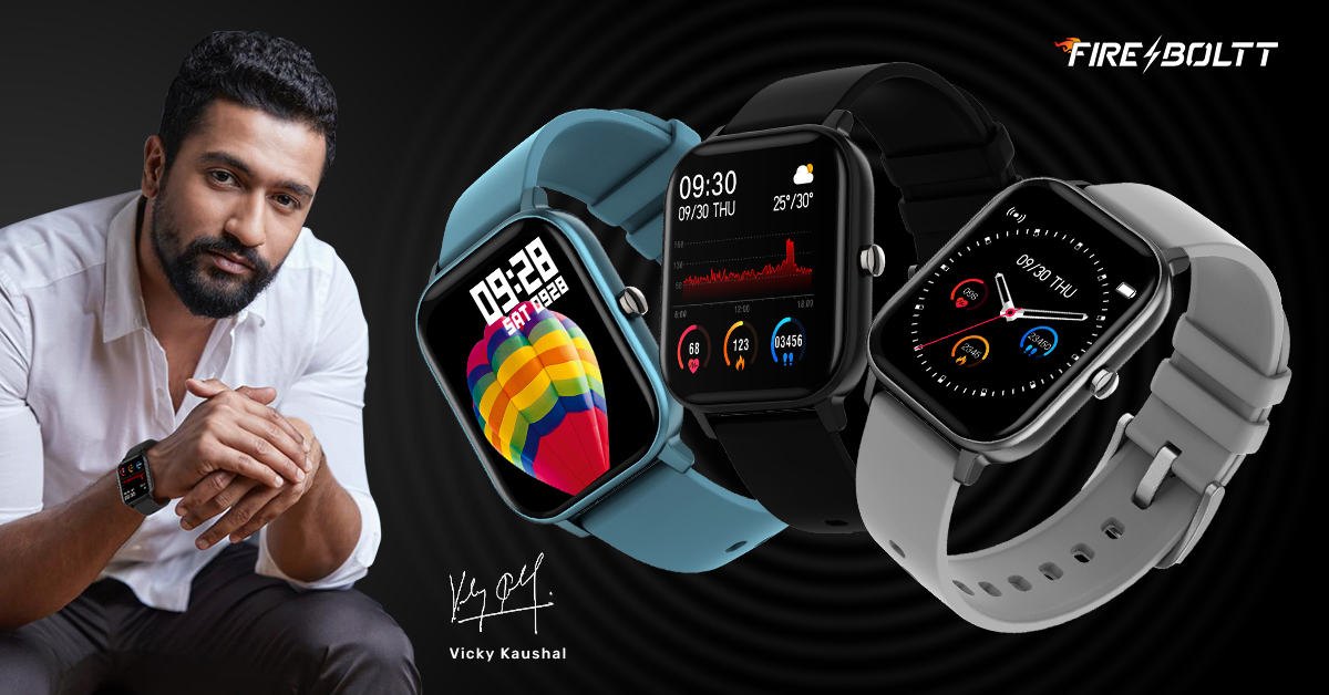 Fire-Boltt SpO2 Full Touch 1.4 inch Smart Watch 400 Nits Peak Brightness Metal Body 8 Days Battery Life with 24*7 Heart Rate